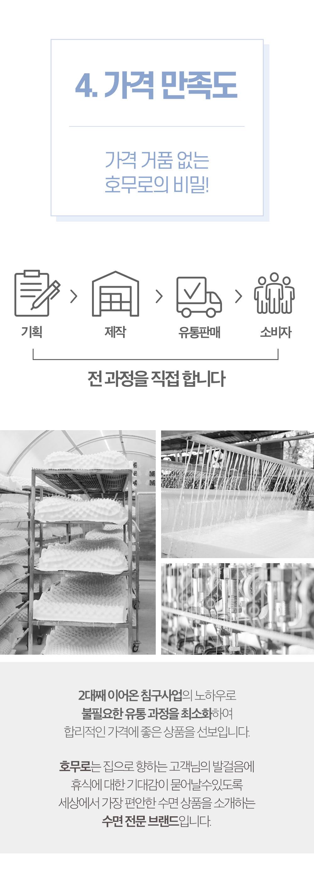 호무로(HOMURO) 밀착 카밍케어 베개 높낮이조절 숙면 고밀도 메모리폼 베개 (항균베개)
